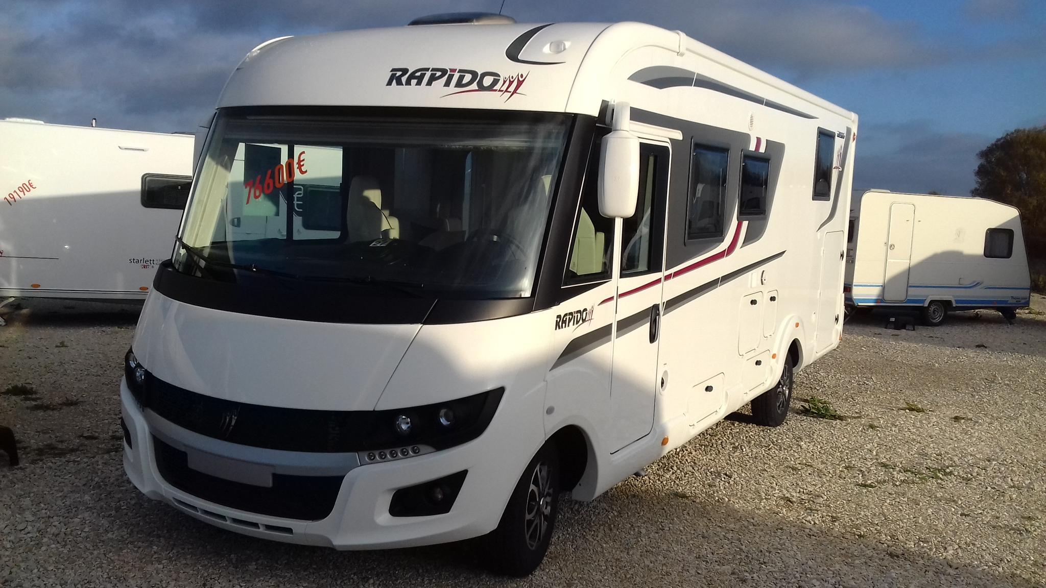 rapido 8096df premium edit neuf de 2018 fiat camping car en vente appoigny yonne 89. Black Bedroom Furniture Sets. Home Design Ideas