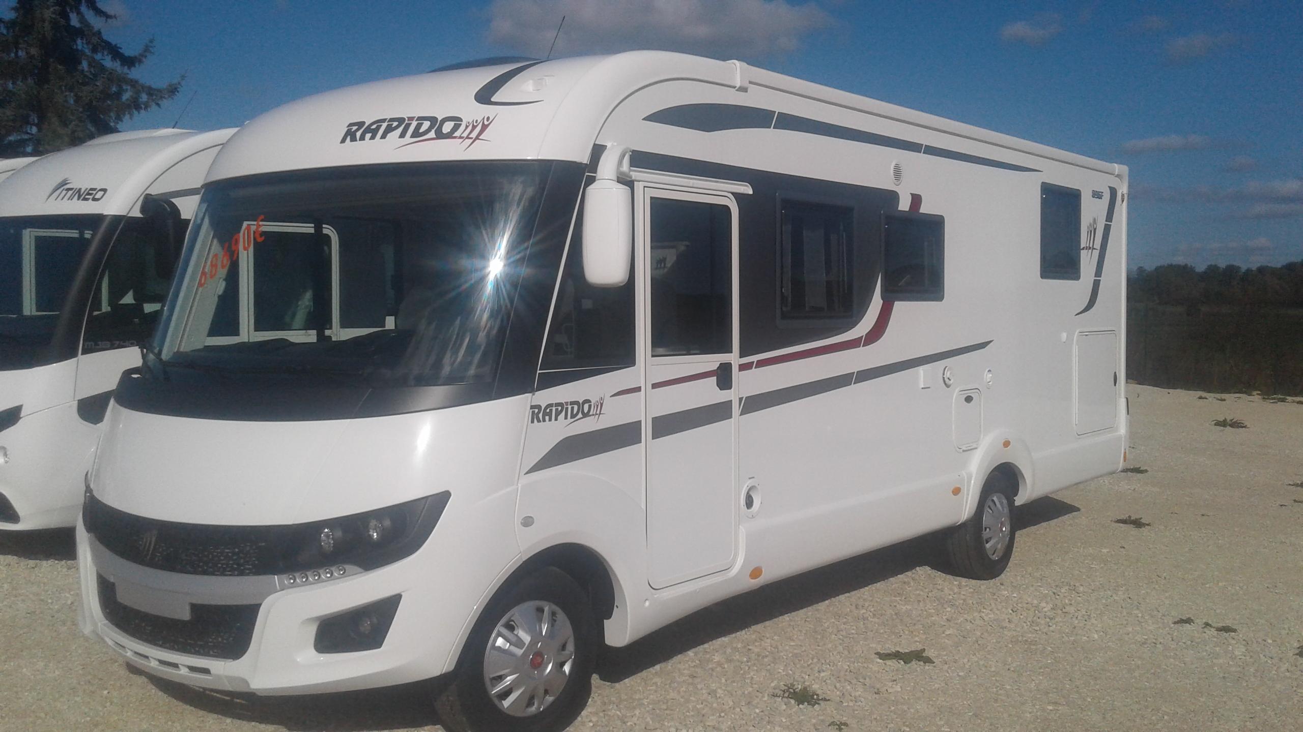 rapido 890 f neuf de 2018 fiat camping car en vente appoigny yonne 89. Black Bedroom Furniture Sets. Home Design Ideas