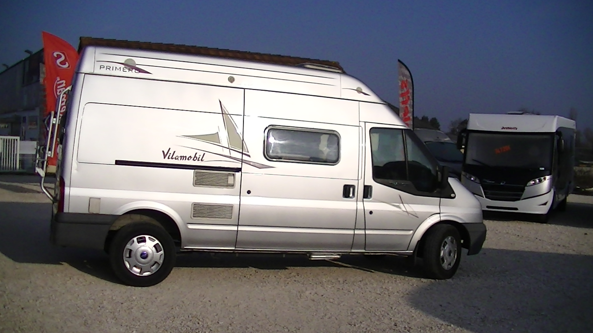 rimor horus occasion de 2010 ford camping car en vente appoigny yonne 89. Black Bedroom Furniture Sets. Home Design Ideas