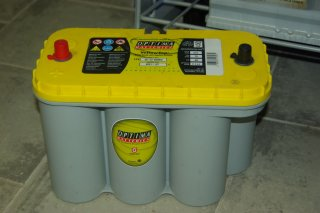 Batteries OPTIMA YTS 5.5