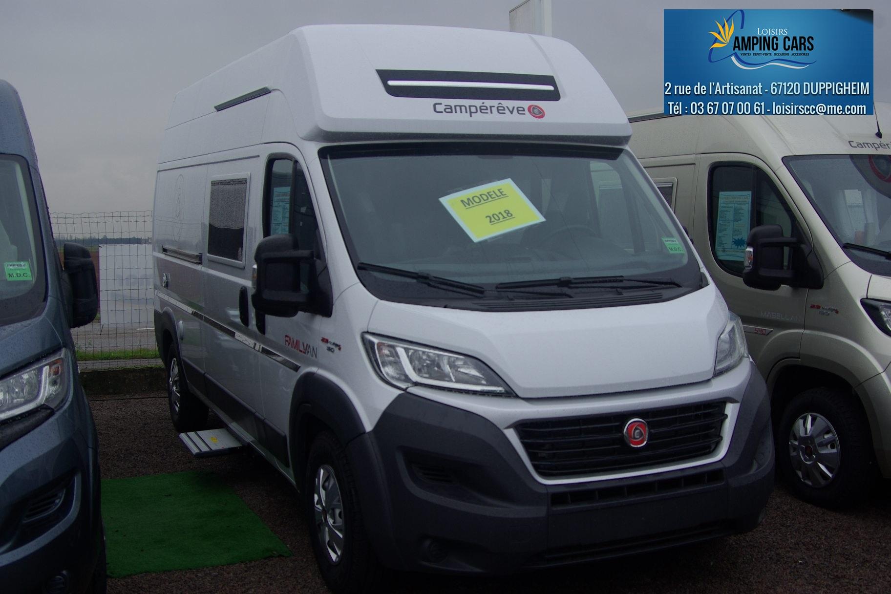 campereve family van neuf de 2018 fiat camping car en vente duppigheim rhin 67. Black Bedroom Furniture Sets. Home Design Ideas