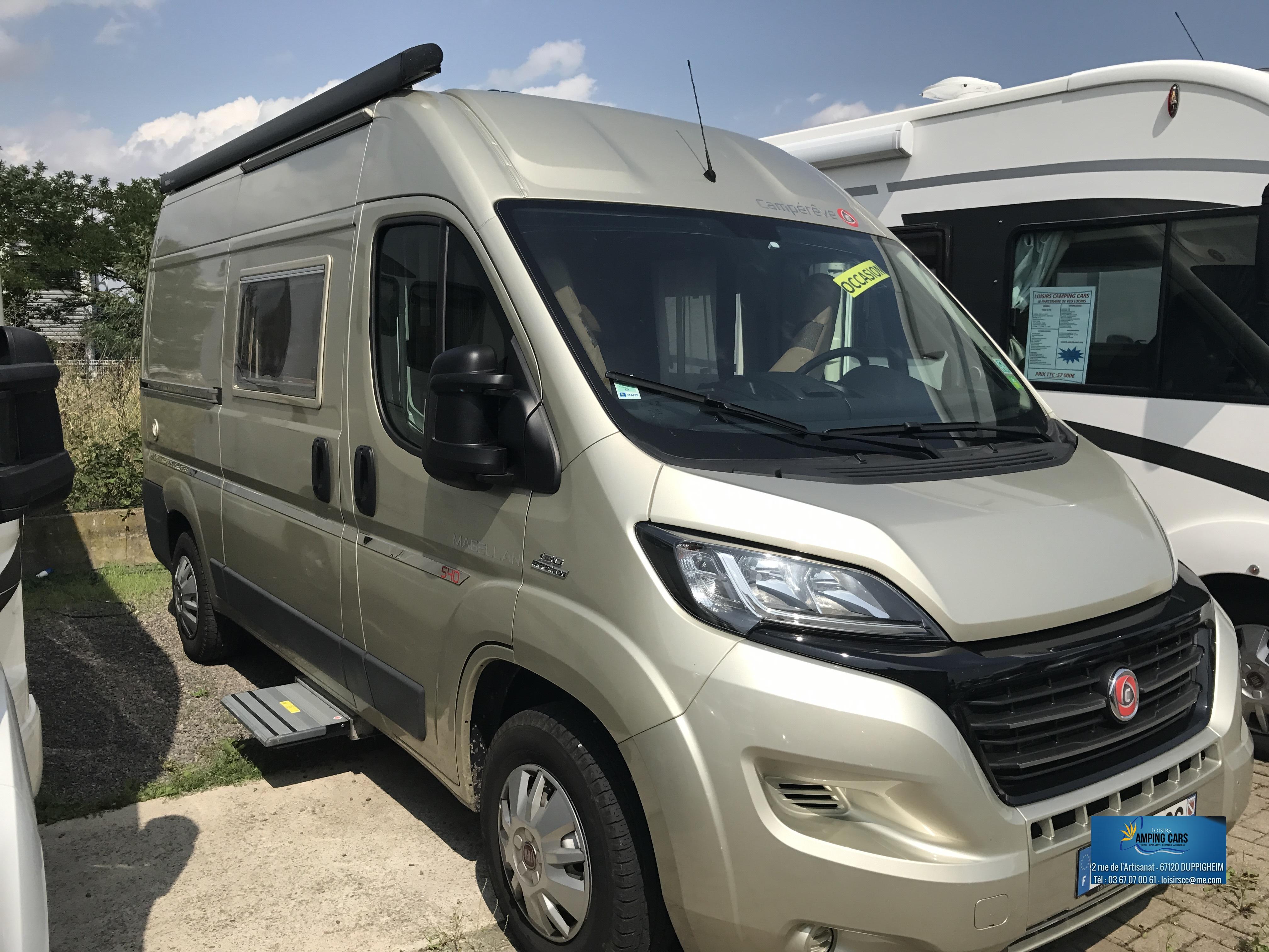 campereve magellan 540 occasion de 2016 fiat camping car en vente duppigheim rhin 67. Black Bedroom Furniture Sets. Home Design Ideas