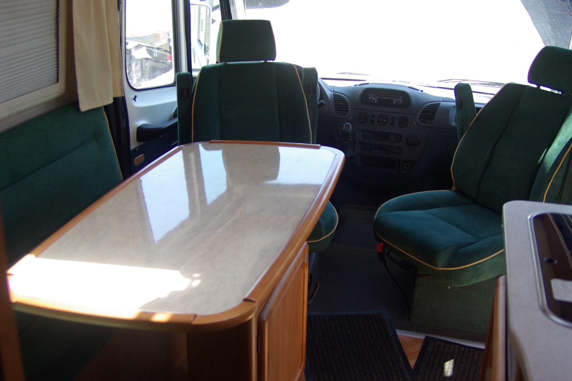 esterel 29 l occasion de 2001 mercedes camping car en vente duppigheim rhin 67. Black Bedroom Furniture Sets. Home Design Ideas