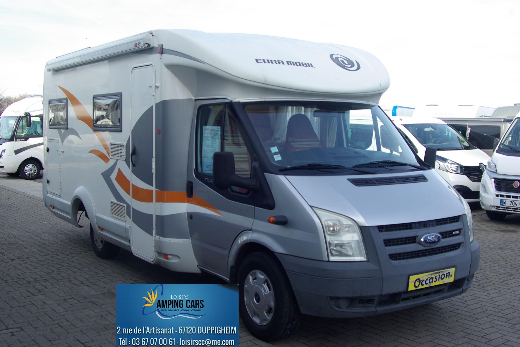eura mobil t 662 hb occasion porteur ford 2 2l 125cv camping car vendre en rhin 67 ref 78429. Black Bedroom Furniture Sets. Home Design Ideas