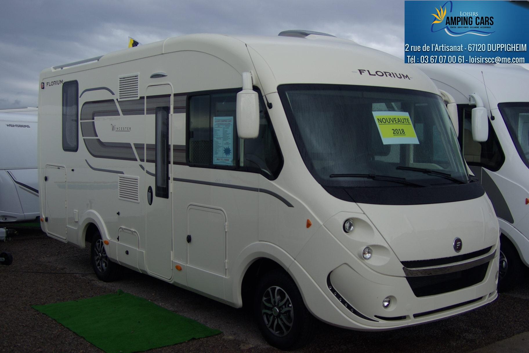 fleurette florium wincester 65lmc neuf de 2018 fiat camping car en vente duppigheim rhin. Black Bedroom Furniture Sets. Home Design Ideas