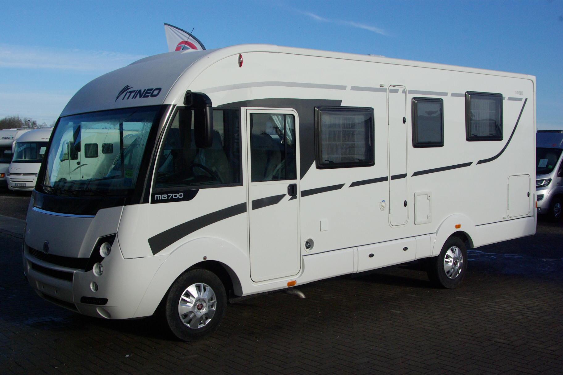 itineo mb 700 neuf porteur fiat 2 3l 130cv camping car vendre en rhin 67 ref 55093. Black Bedroom Furniture Sets. Home Design Ideas