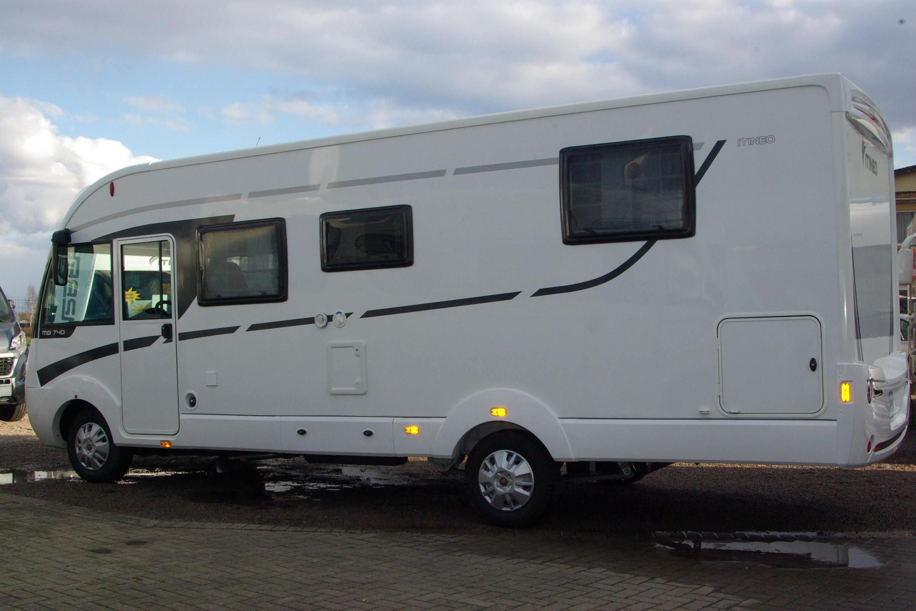 Itineo mb 740 neuf de 2016 fiat camping car en vente for Vente de neuf