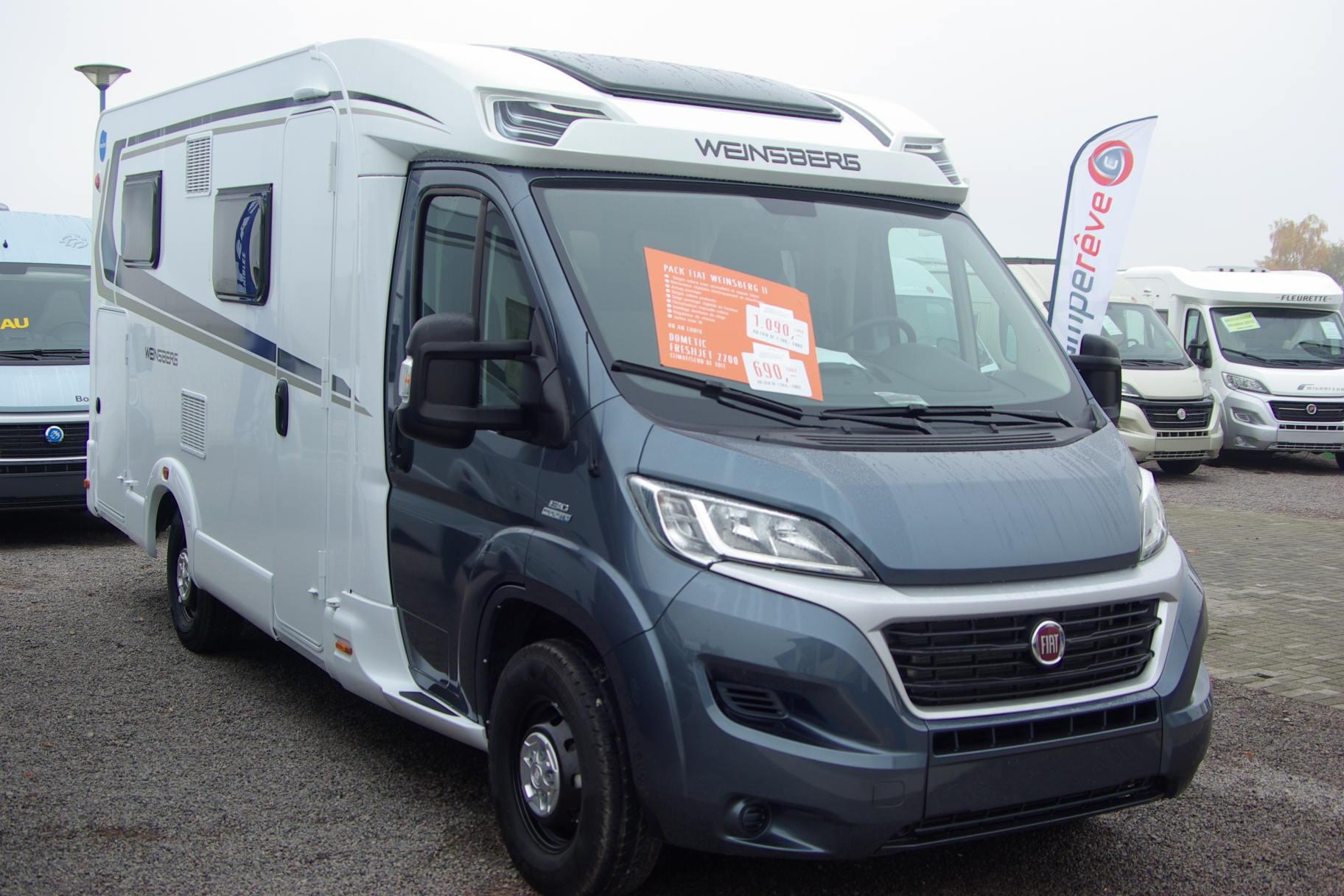 weinsberg caracompact 600meg neuf de 2016 fiat camping car en vente duppigheim rhin 67. Black Bedroom Furniture Sets. Home Design Ideas