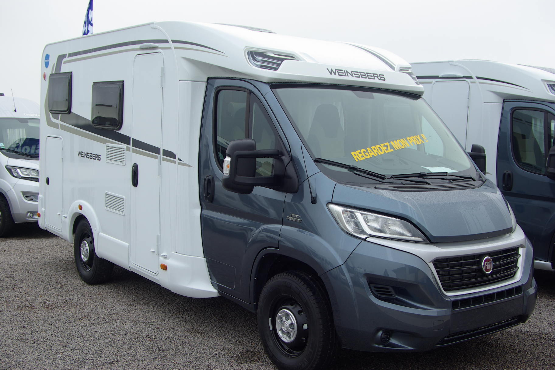 weinsberg caraloft 550mg neuf porteur fiat 2 3l 130cv camping car vendre en rhin 67 ref. Black Bedroom Furniture Sets. Home Design Ideas