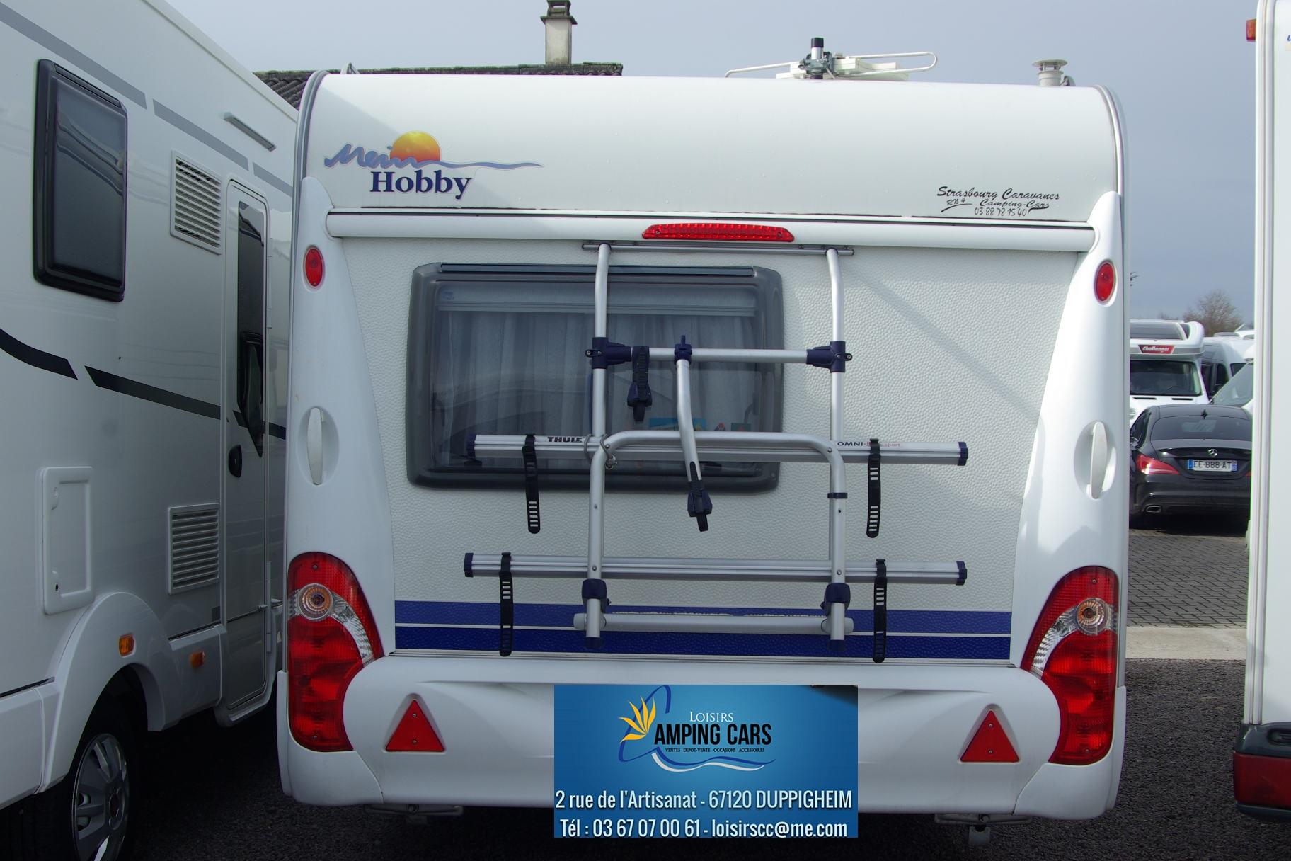 hobby 440 sf excellent occasion caravane vendre en rhin. Black Bedroom Furniture Sets. Home Design Ideas