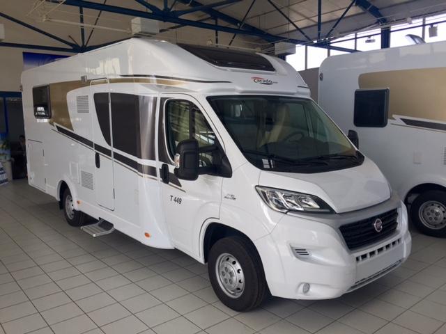 carado t 449 neuf de 2016 fiat camping car en vente muret haute garonne 31. Black Bedroom Furniture Sets. Home Design Ideas