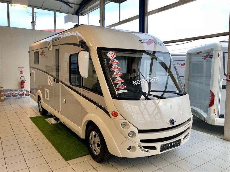 carthago c compactline i 144 qb neuf de 2018 fiat camping car en vente muret haute garonne. Black Bedroom Furniture Sets. Home Design Ideas