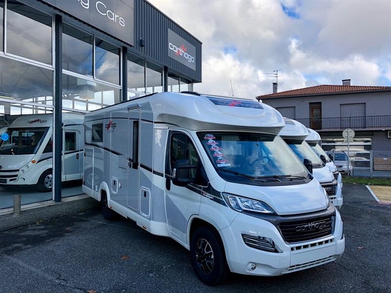 carthago c tourer t 150 neuf de 2018 fiat camping car en vente muret haute garonne 31. Black Bedroom Furniture Sets. Home Design Ideas
