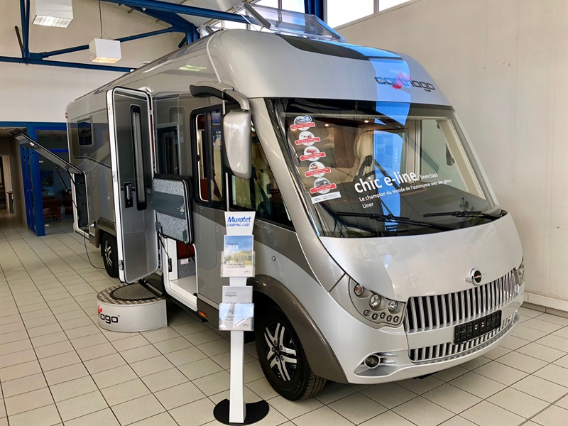 carthago chic e line 51 neuf de 2018 fiat camping car en vente muret haute garonne 31. Black Bedroom Furniture Sets. Home Design Ideas