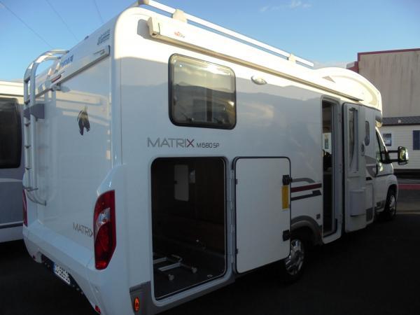 adria matrix 680 sp occasion de 2013 fiat camping car en vente treillieres loire. Black Bedroom Furniture Sets. Home Design Ideas