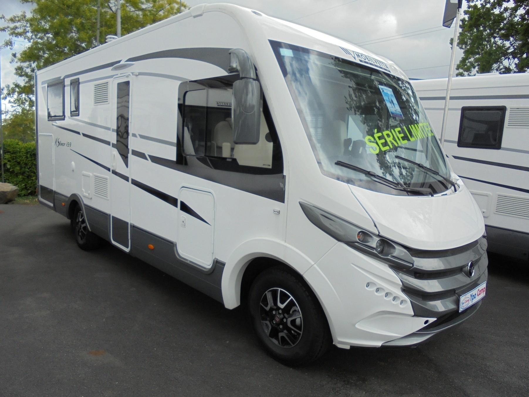 mobilvetta k silver i 59 neuf fiat camping car en vente treillieres loire atlantique 44. Black Bedroom Furniture Sets. Home Design Ideas