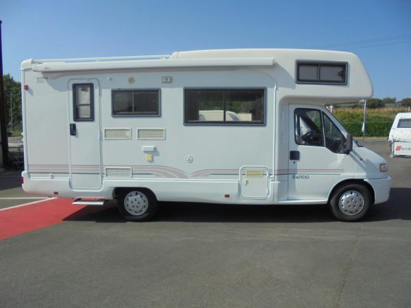 rapido 890 occasion de 1998 fiat camping car en vente treillieres loire atlantique 44. Black Bedroom Furniture Sets. Home Design Ideas