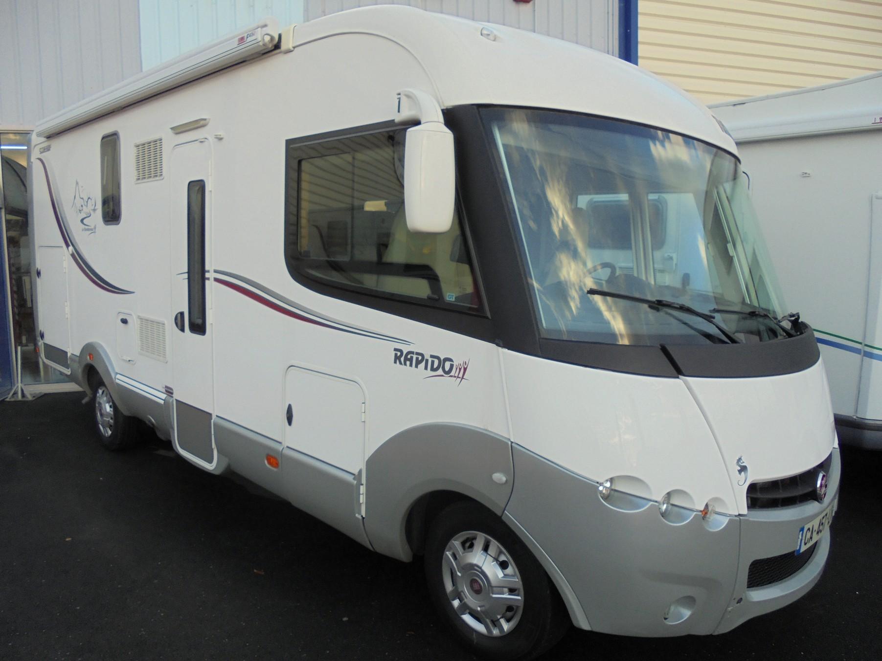 rapido 9083 df occasion de 2012 fiat camping car en vente treillieres loire atlantique 44. Black Bedroom Furniture Sets. Home Design Ideas