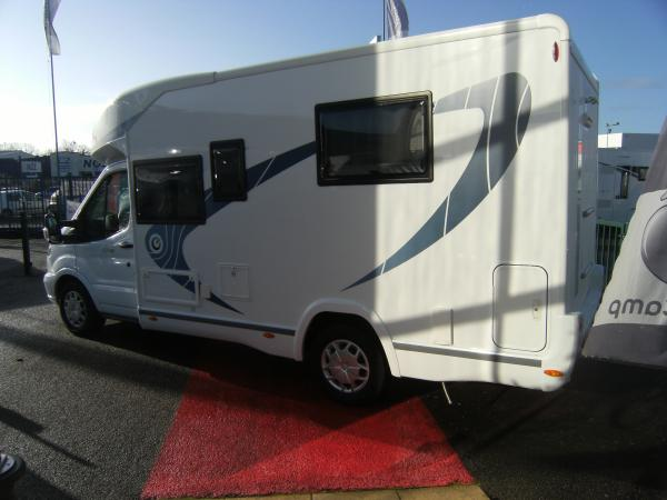 Chauson Camping Car M Central Lit