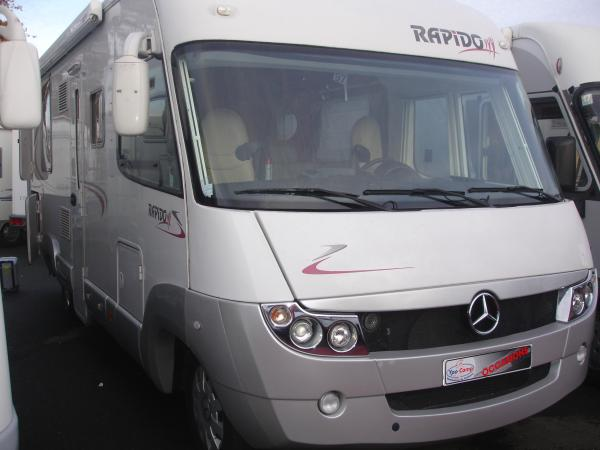 rapido 909 m occasion de 2009 mercedes camping car en vente orgeres ile et villaine 35. Black Bedroom Furniture Sets. Home Design Ideas