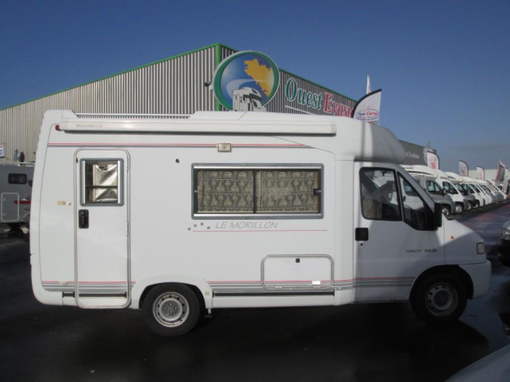 fleurette le morillon occasion de 1997 citroen camping car en vente la meziere ile et. Black Bedroom Furniture Sets. Home Design Ideas