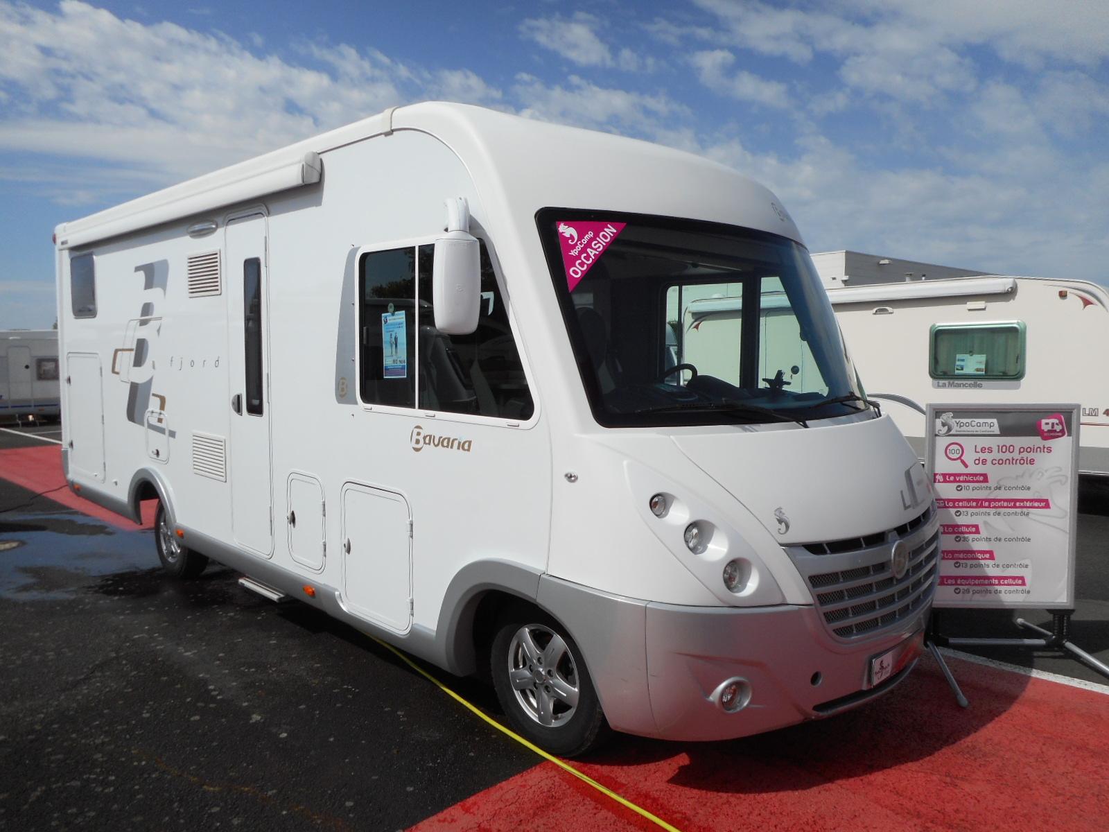 bavaria fjord i 741 lgj occasion de 2013 fiat camping car en vente rochefort charente. Black Bedroom Furniture Sets. Home Design Ideas