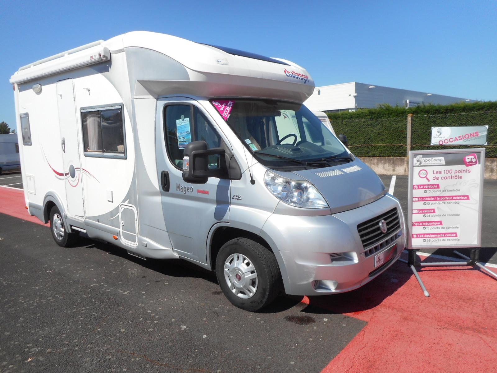 challenger mageo prium occasion de 2010 fiat camping car en vente rochefort charente. Black Bedroom Furniture Sets. Home Design Ideas
