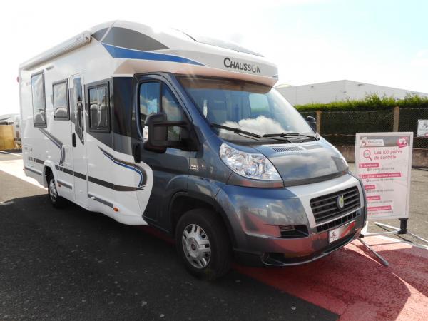 chausson welcome 618 occasion de 2014 fiat camping car en vente rochefort charente. Black Bedroom Furniture Sets. Home Design Ideas