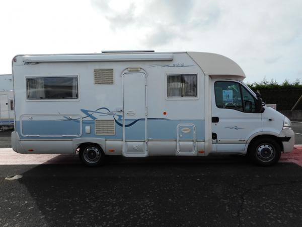 rimor sailer 647 occasion de 2006 renault camping car en vente rochefort charente. Black Bedroom Furniture Sets. Home Design Ideas
