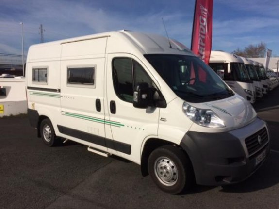 fiat ducato occasion de 2007 fiat camping car en vente bayonne pyrenees atlantiques 64. Black Bedroom Furniture Sets. Home Design Ideas