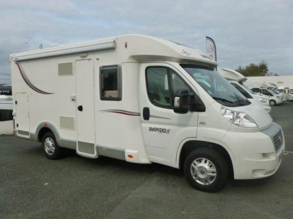 rapido 643 occasion de 2015 fiat camping car en vente bayonne pyrenees atlantiques 64. Black Bedroom Furniture Sets. Home Design Ideas