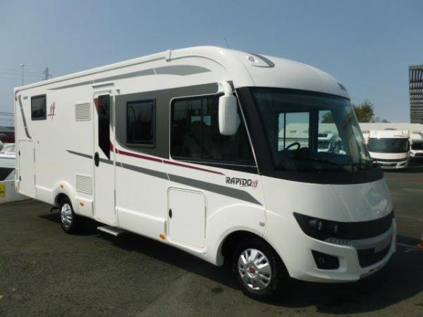 rapido 896 f neuf de 2018 fiat camping car en vente bayonne pyrenees atlantiques 64. Black Bedroom Furniture Sets. Home Design Ideas