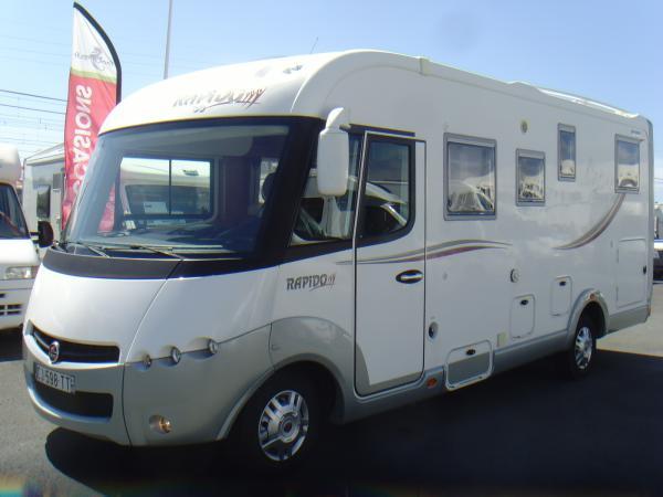 rapido 983 df occasion de 2012 fiat camping car en vente bayonne pyrenees atlantiques 64. Black Bedroom Furniture Sets. Home Design Ideas
