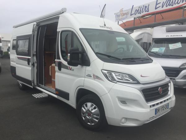 rapido v66 occasion de 2015 fiat camping car en vente bayonne pyrenees atlantiques 64. Black Bedroom Furniture Sets. Home Design Ideas