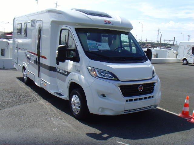 adria coral s 690 sc neuf porteur fiat 2 3l 130 camping car vendre en espagne 106 ref. Black Bedroom Furniture Sets. Home Design Ideas
