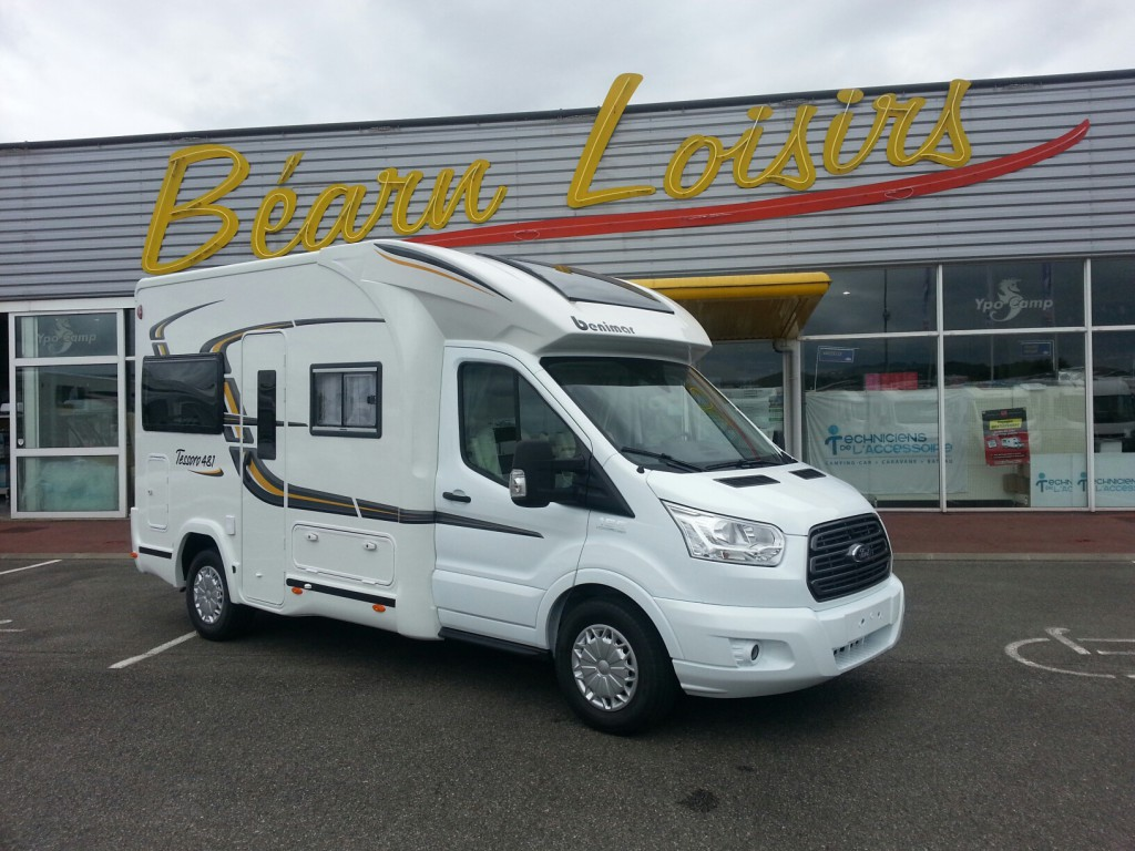benimar tessoro 481 neuf de 2015 ford camping car en vente irun espagne esp. Black Bedroom Furniture Sets. Home Design Ideas