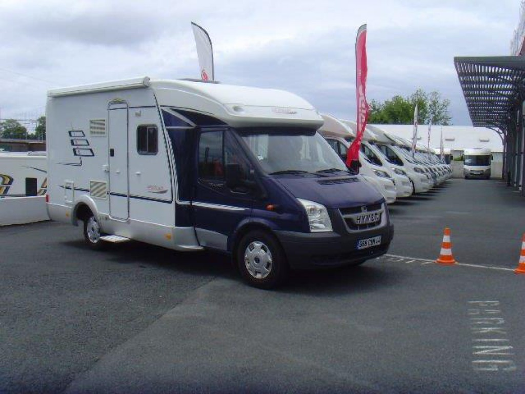 hymer tramp t572 cl occasion de 2007 ford camping car en vente irun espagne esp. Black Bedroom Furniture Sets. Home Design Ideas