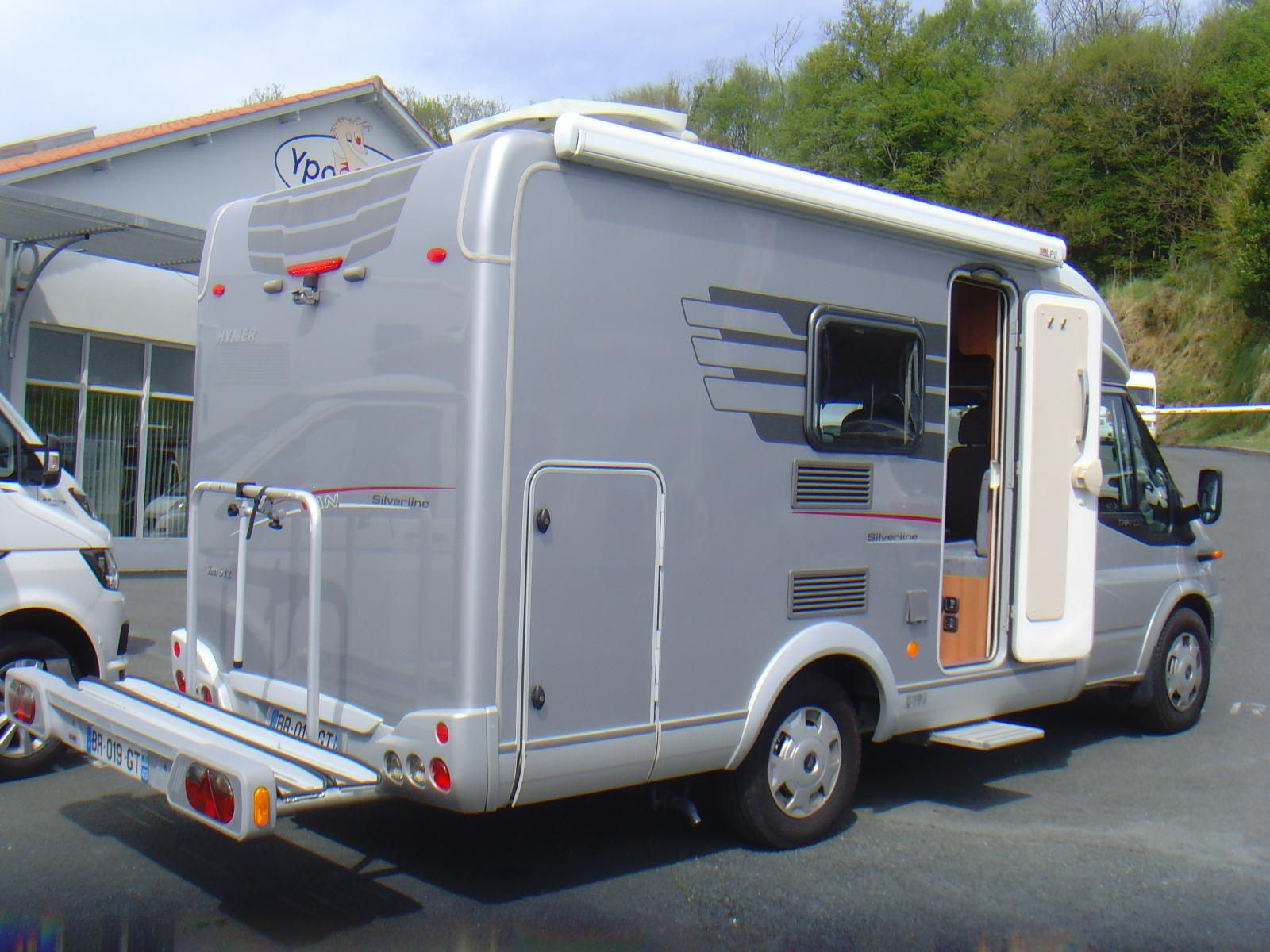 hymer van 512 silverline occasion porteur ford 2 2l 140cv camping car vendre en espagne. Black Bedroom Furniture Sets. Home Design Ideas