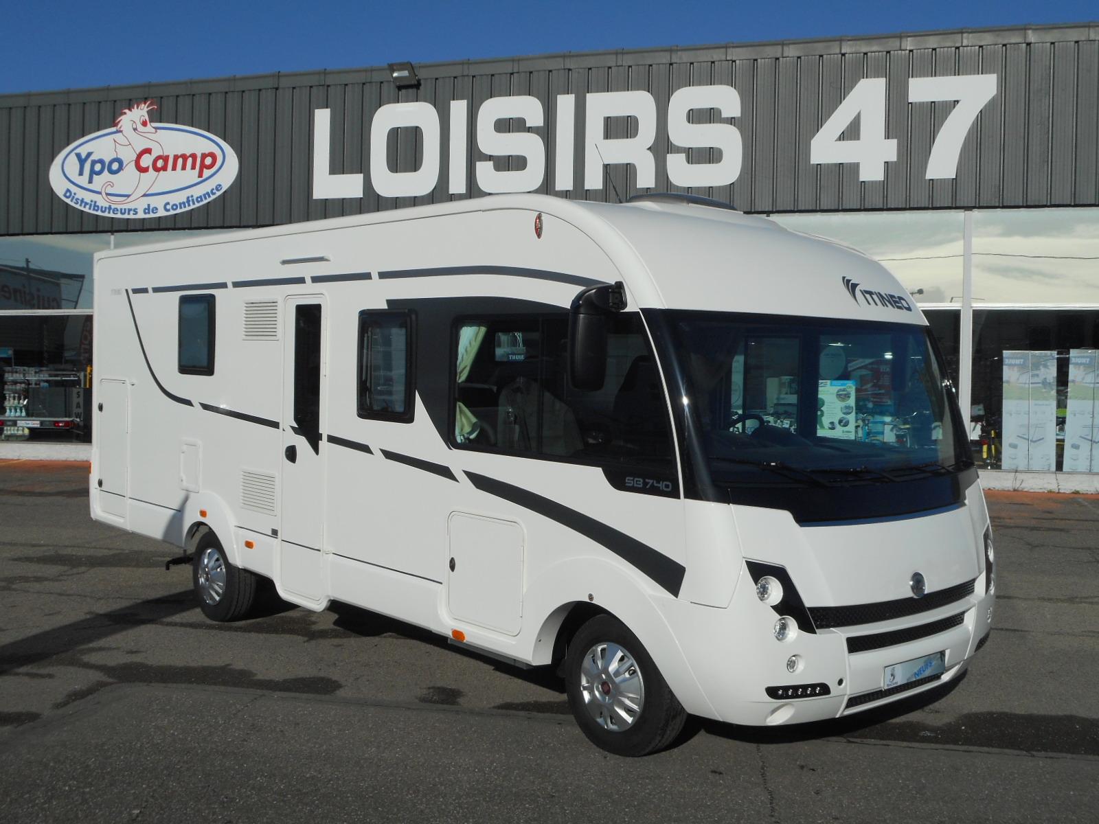 itineo sb 740 neuf porteur fiat 2 3l 130 camping car vendre en espagne 106 ref 80730. Black Bedroom Furniture Sets. Home Design Ideas