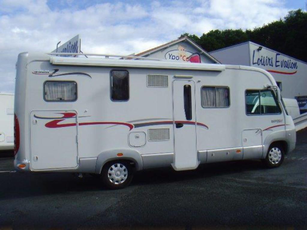 rapido 996 m occasion de 2008 mercedes camping car en vente irun espagne esp. Black Bedroom Furniture Sets. Home Design Ideas