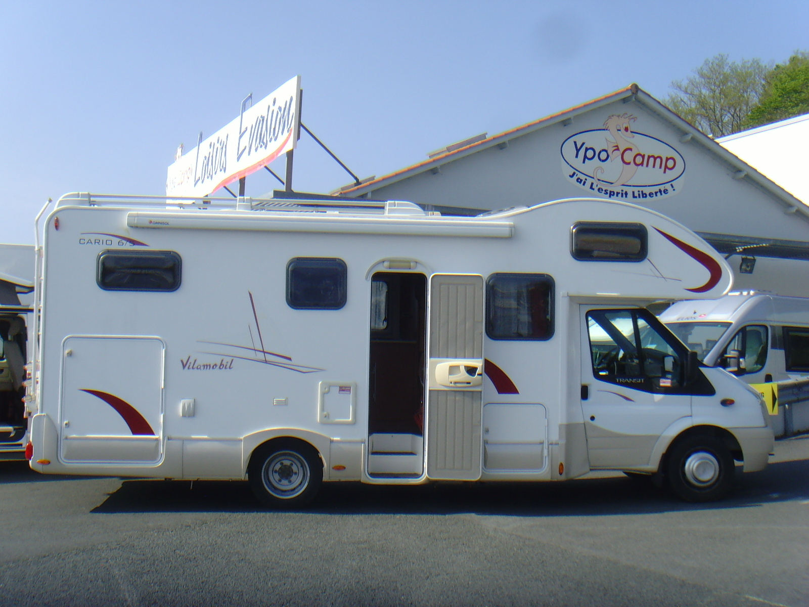 vilamobil cario 6 5 occasion de 2008 fiat camping car en vente irun espagne esp. Black Bedroom Furniture Sets. Home Design Ideas
