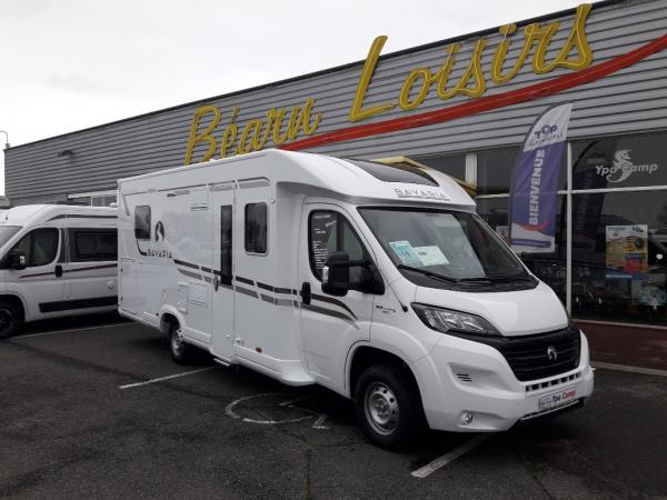 bavaria t 740 c class neuf de 2018 fiat camping car en vente lescar pyrenees atlantiques 64. Black Bedroom Furniture Sets. Home Design Ideas