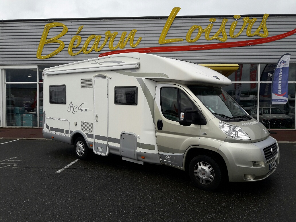 mc louis mc4 63 occasion de 2010 fiat camping car en vente lescar pyrenees atlantiques 64. Black Bedroom Furniture Sets. Home Design Ideas