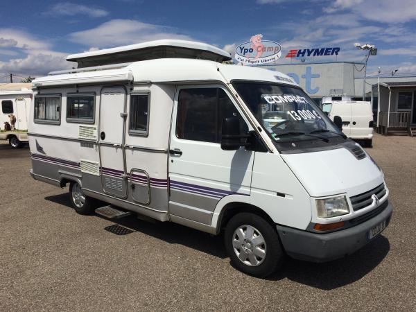 eriba 580 profile occasion de 1996 renault camping car en vente saint priest rhone 69. Black Bedroom Furniture Sets. Home Design Ideas