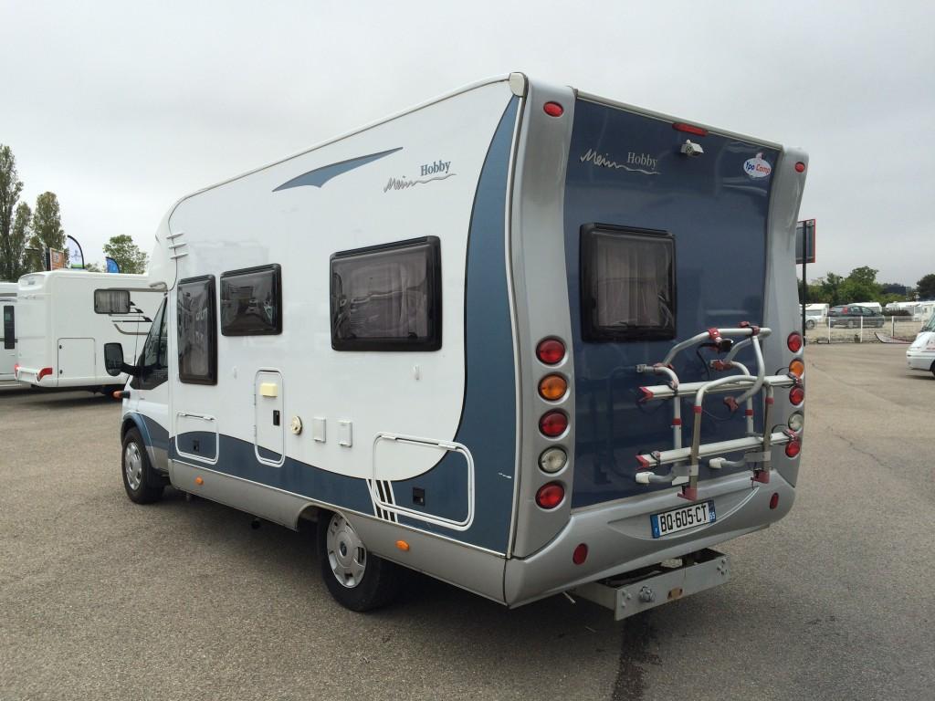 hobby siesta 600 occasion de 2007 ford camping car en vente saint priest rhone 69. Black Bedroom Furniture Sets. Home Design Ideas