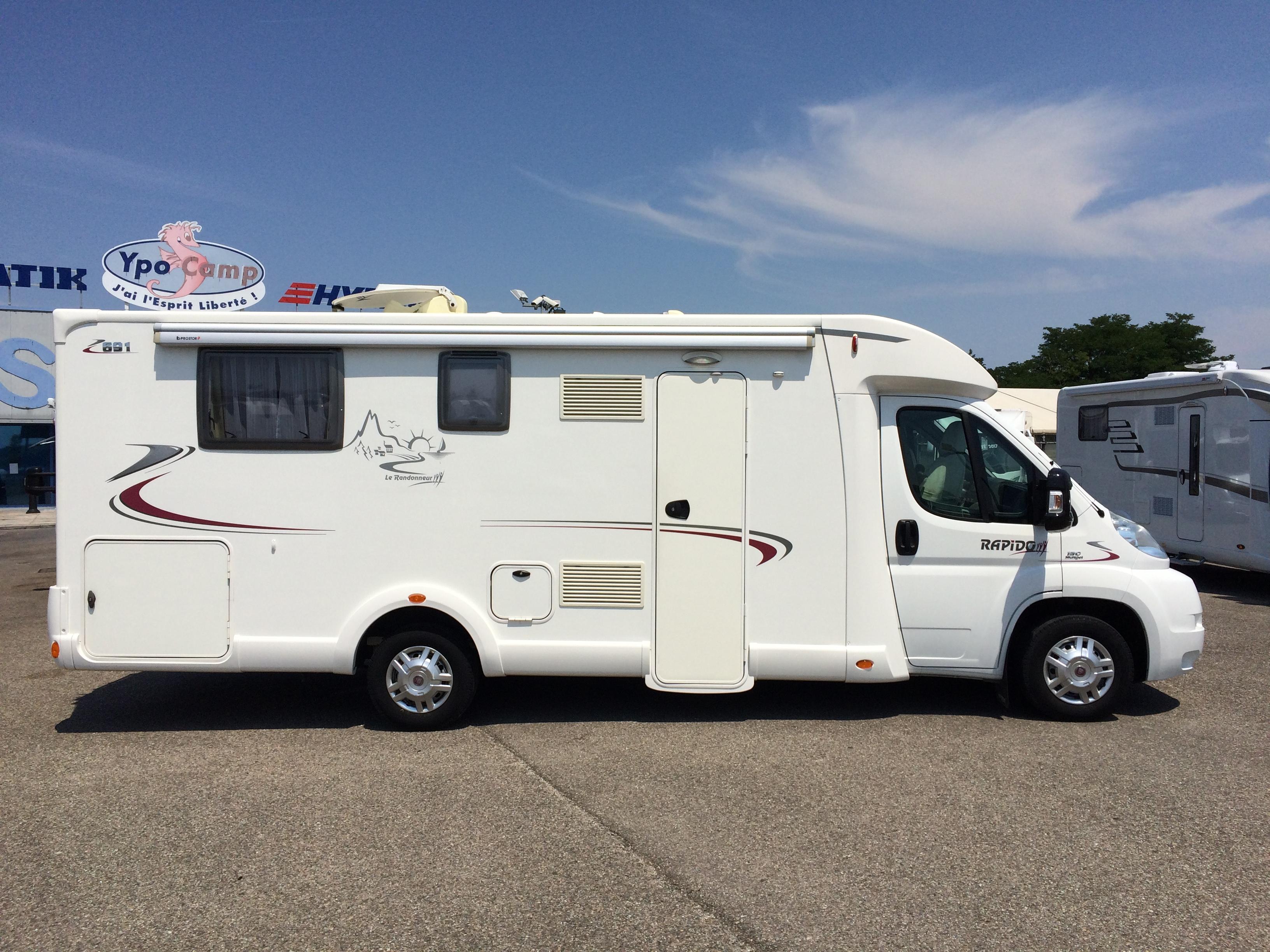Rapido 691 f occasion de 2011 fiat camping car en - Camping car rapido occasion lit central ...