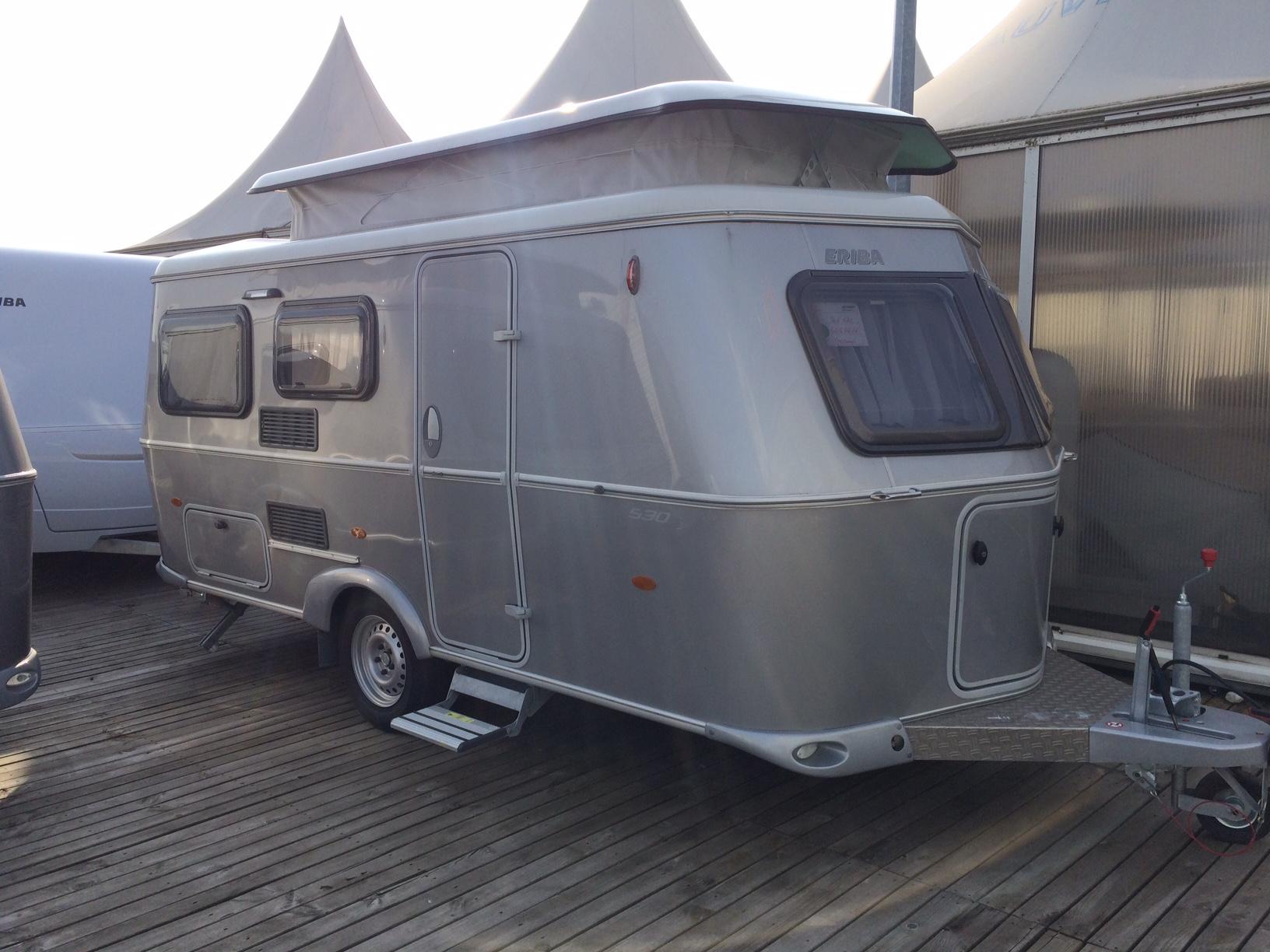 eriba troll 530 silver edition occasion caravane en vente saint priest rhone 69. Black Bedroom Furniture Sets. Home Design Ideas