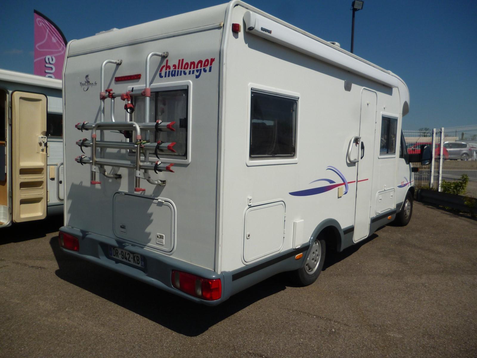 challenger 107 occasion de 2003 fiat camping car en vente saint priest rhone 69. Black Bedroom Furniture Sets. Home Design Ideas
