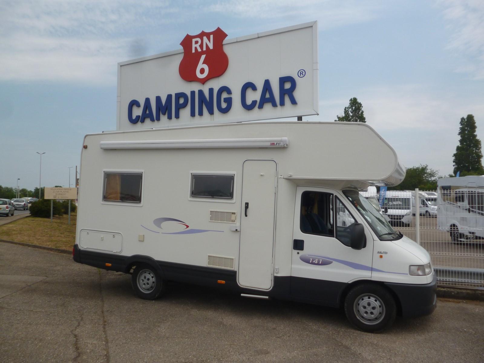 challenger 141 occasion de 2002 fiat camping car en vente saint priest rhone 69. Black Bedroom Furniture Sets. Home Design Ideas