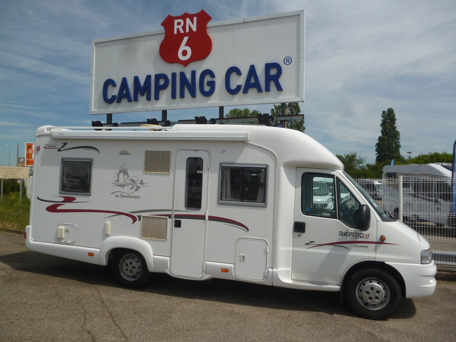 rapido 786 c occasion de 2004 citroen camping car en vente saint priest rhone 69. Black Bedroom Furniture Sets. Home Design Ideas
